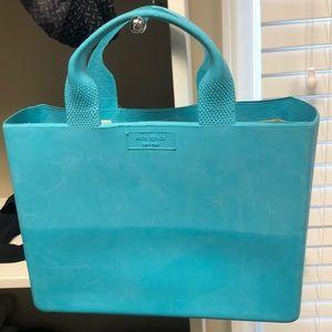 NWT Kate Spade Quinn Rubber Tote: great beach bag